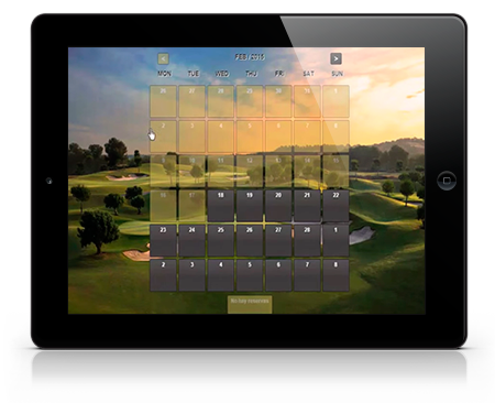 Golf Reservation Software