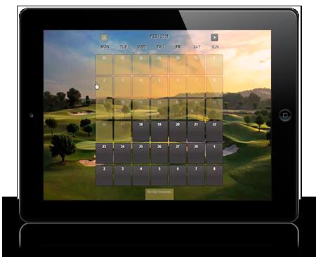 Golf Reservation Software