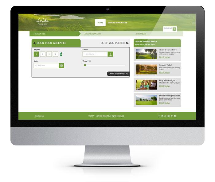 CSS Online Golf