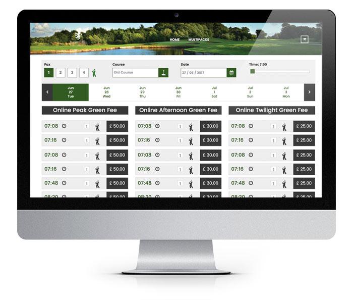 forby golf club booking