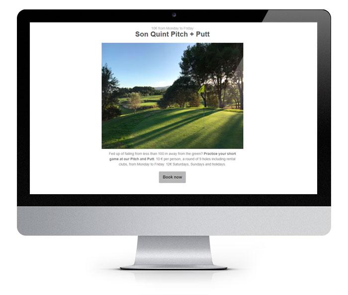 Golf Club Newsletter