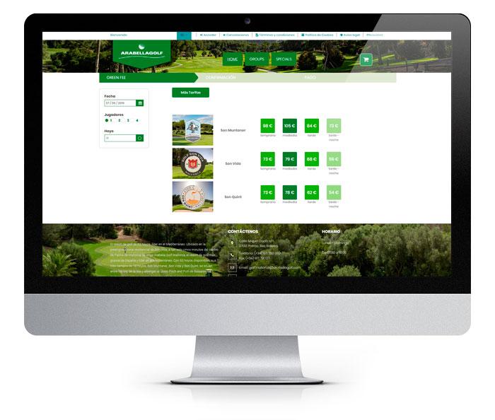 Arabella Golf Concept Online